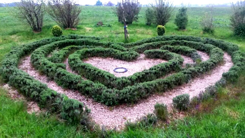 Der Garten des Friedens in Gstadt