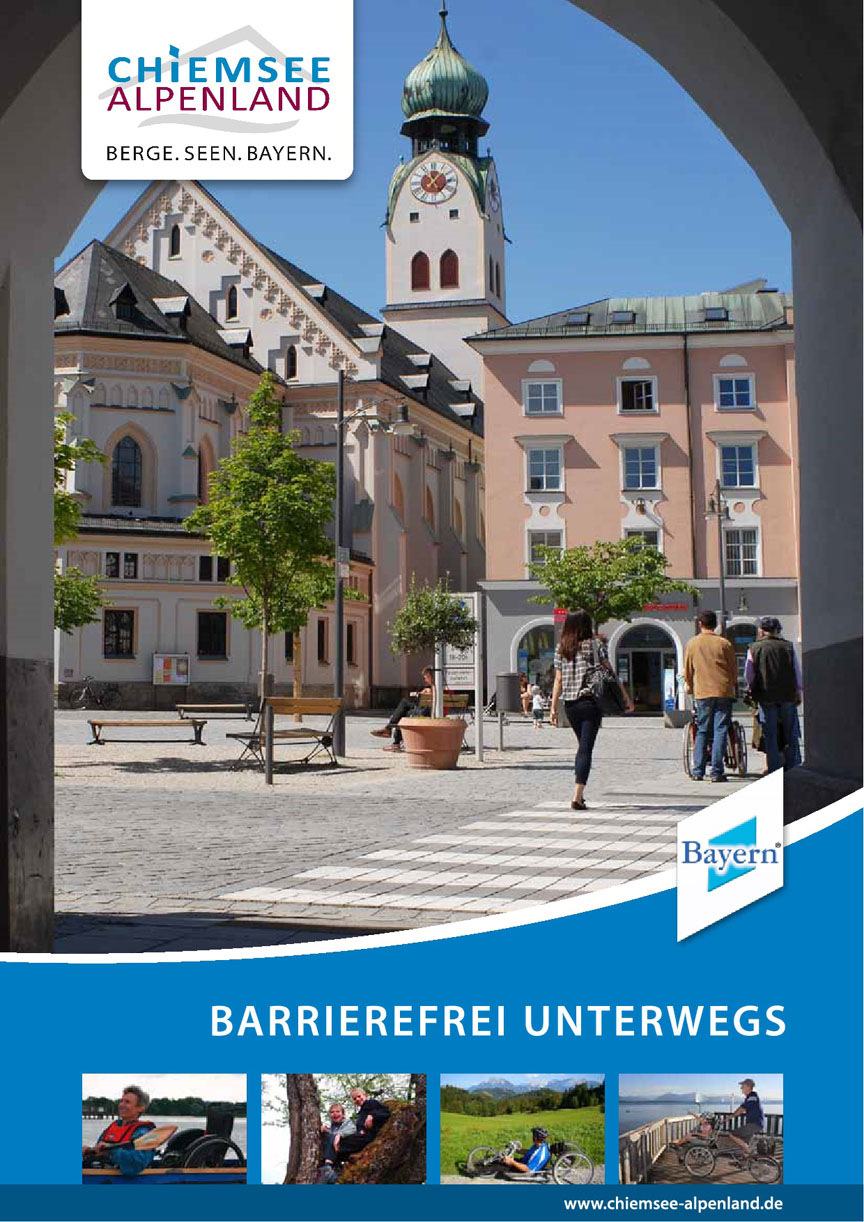 Free brochure: disability access on your trip