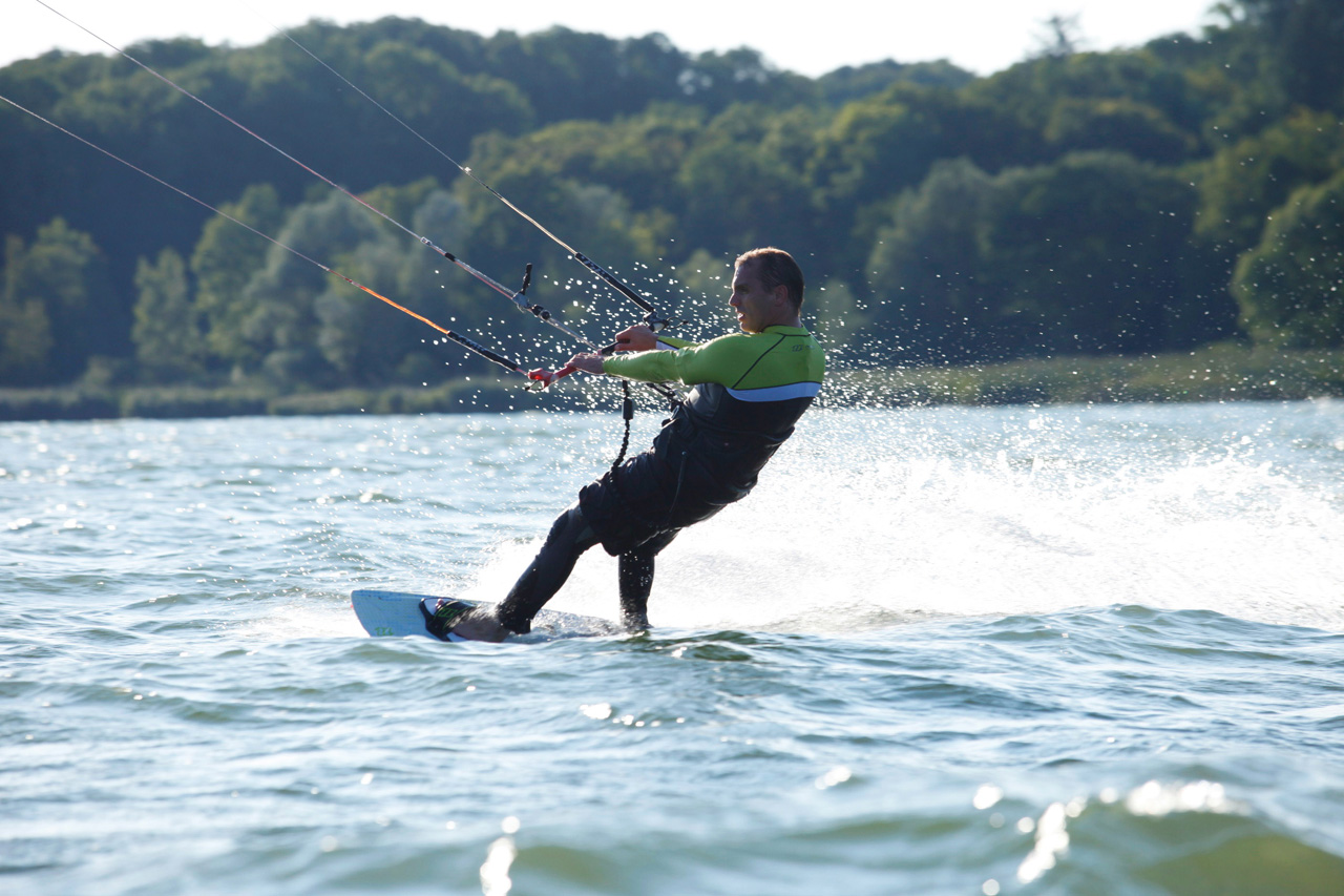 Perfect wind for kiting (Foto © Ulli Seer)