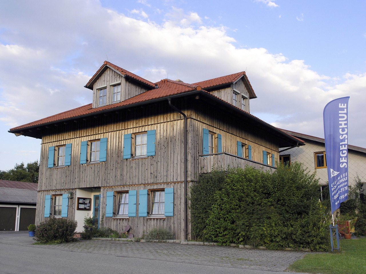 Seminar building Schunck in Gollenshausen (Foto: © Ulli Reiter)