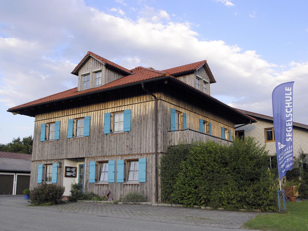 Seminarhaus Schunck, Chiemsee-Yachtschule Gollenshausen (Foto: © Ulli Reiter)