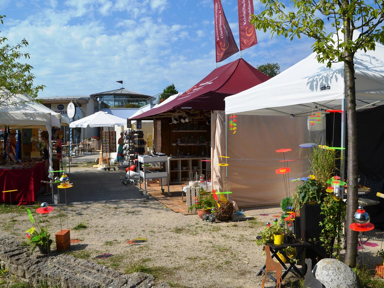 Chiemsee Liedermacher Contest und BAZart - Markt der Sinne